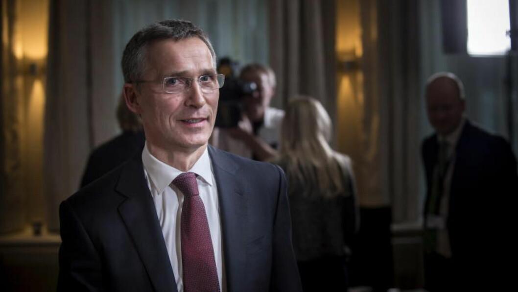 <strong>NY NATO-SJEF:</strong> I dag ble det klart at Jens Stoltenberg i oktober begynner som generalsekretær i Nato. Foto: Øistein Norum Monsen