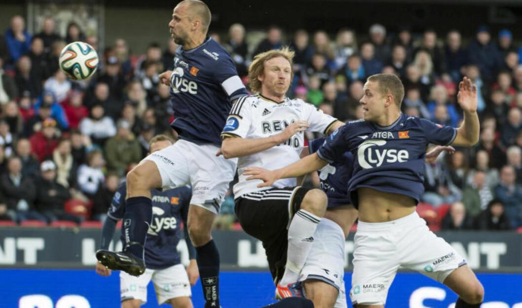 <strong>SNUBLET:</strong> RBK rotet og spilte 2-2 hjemme mot Viking. Rosenborg prøver å være noe de ikke har mannskap og typer til, skriver Dagbladet-kommentator Morten Pedersen.  Foto: Ned Alley / NTB scanpix
