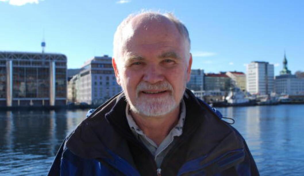 <strong>ADVARER:</strong> Seniorforsker Svein Sundby sier at vi må gjøre dramatiske tlitak nå for å hindre at skalldyr og skjell vil kunne forsvinne. Foto: Leif Stang/Dagbladet