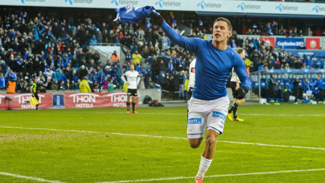 <strong>TIL LSK:</strong>  Moldes Tommy Høilands lånes ut til Lillestrøm resten av sesongen. Foto: Fredrik Varfjell / NTB scanpix