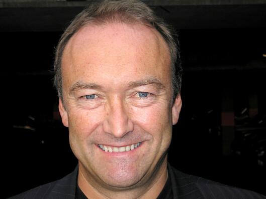 Knut Morten Johansen er informasjonssjef i SAS. Foto: SAS