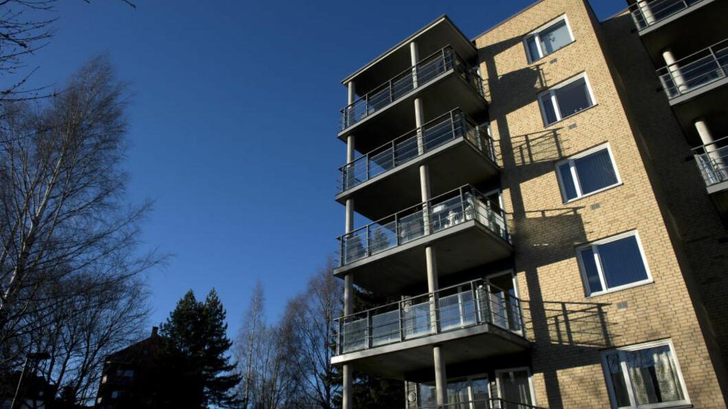 <strong>BOLIGPRISER:</strong> Ferske tall viser at prisene på leiligheter fortsatte å stige i mars.  Foto: Øistein Norum Monsen / DAGBLADET