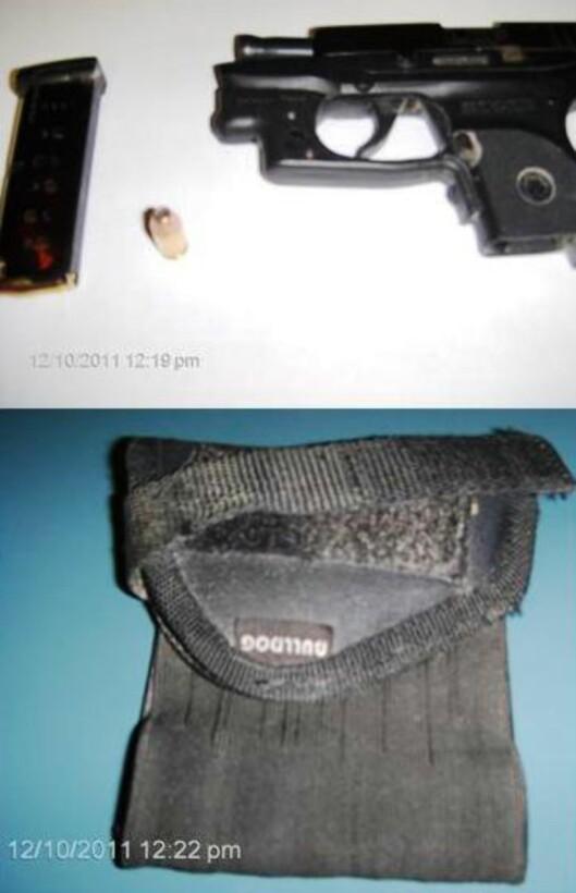 Pistol i ankelhylster er muligens lett å glemme? Foto: TSA