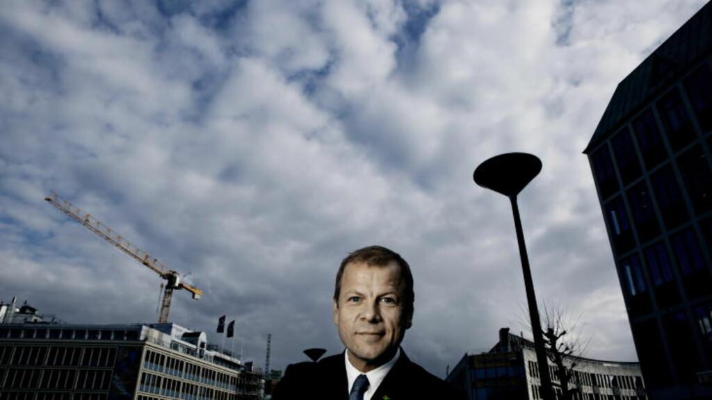 - VÅKNE OPP: Det er Heikki Holmås´ beskjed til olje- og energiminister Tord Lien i dag. Han stoler mer på Energi Norges rapport enn på tallene Statoil har brukt. Foto: Jørn H. Moen / Dagbladet.