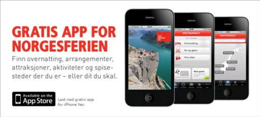 SULTEN PÅ NORSK MAT? Visit Norway-appen gir deg tips til gode spisesteder. Foto: visitnorway