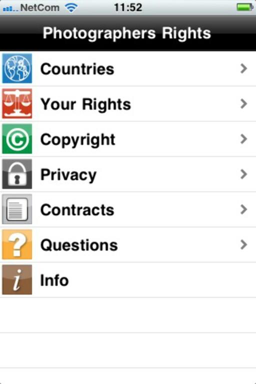 KNIPS I VEI? Appen Photographers Rights hjelper fotografer til å forstå sine juridiske rettigheter avhengig av hvilket land de besøker.