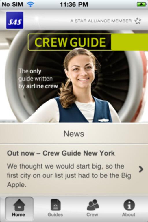 CREW GUIDE: SAS' ansatte gir tips om hotell, restauranter, shopping og severdigheter som kan gjøre reisen din perfekt. Foto: SAS