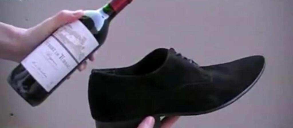 <b>Ja, det virker</b> Du kommer langt med en sko. Foto: Fratmustard/YouTube