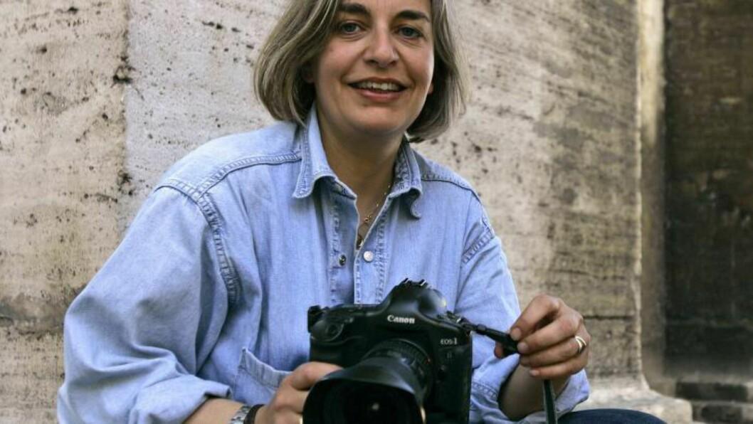 <strong>DREPT:</strong> Det var den tyske, anerkjente fotografen Anja Niedringhaus som ble drept i Afghanistan i dag. Her i et arkivfoto fra 2005. Foto: SCANPIX
