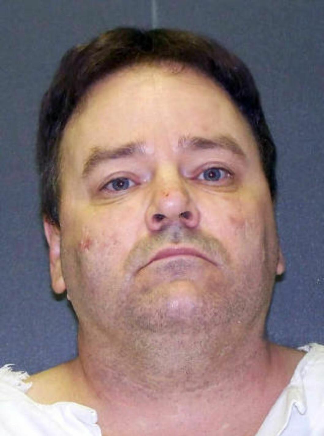 <strong>DRAPSDØMT:</strong> Tommy Lynn Sells (49) og hans advokater hadde bedt om å få utsatt henrettelsen fordi de ønsket å vite hvem som har produsert legemidlene i den dødelige injeksjonen. Foto: AP / NTB scanpix