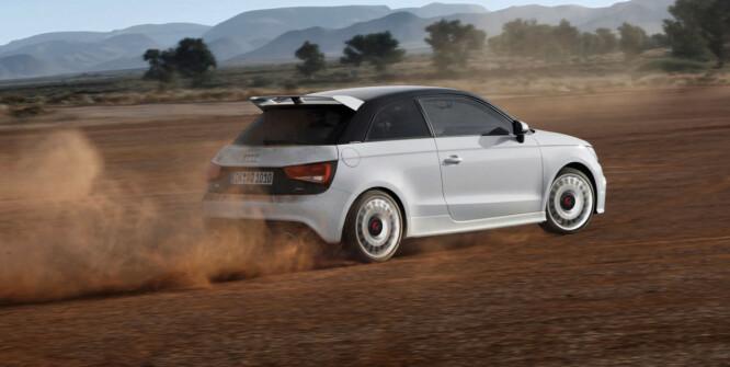 Audi A1 quattro: Råskinnet