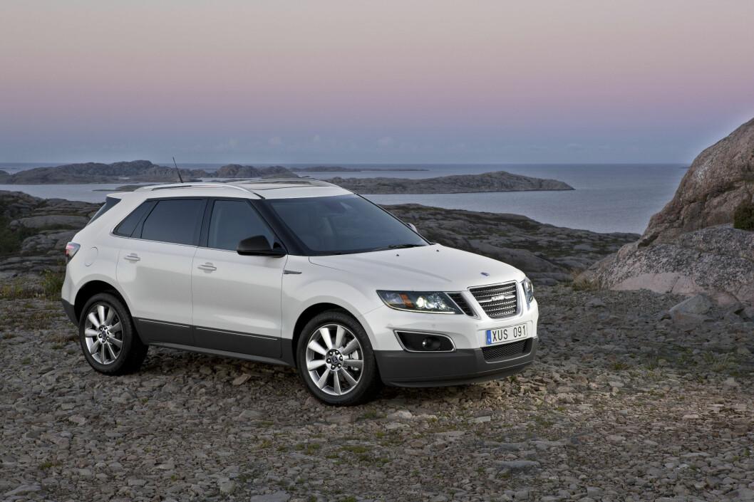 Saab 9-4X skulle være Saabs bidrag til kompakt-SUV-segmentet og konkurrere med bl.a. Audi Q5 og Volvo XC60. Foto: Saab