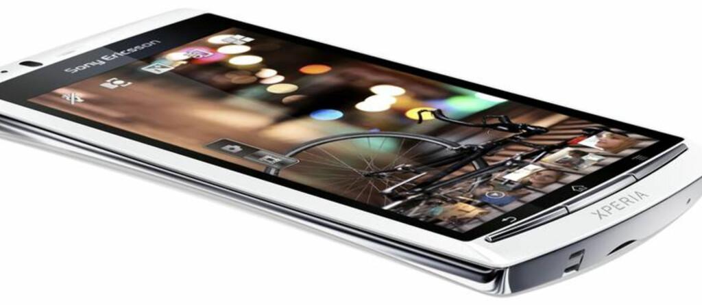 Sony Ericsson XPERIA Arc S er nesten prikk lik forgjengeren.