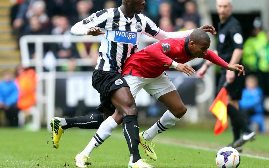 <strong>SKADD:</strong> Manchester Uniteds Ashley Young sliter med skade etter Newcastle-kampen i helga. Foto: AP Photo/Scott Heppell