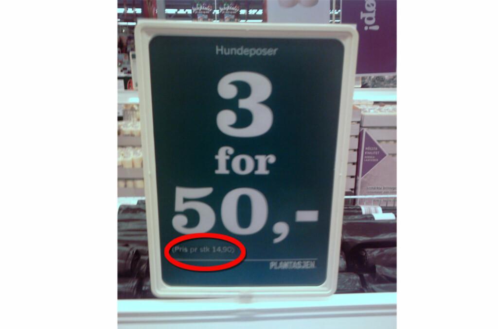 Slår du til på dette tilbudet? Foto: Lars Arve Sæbø