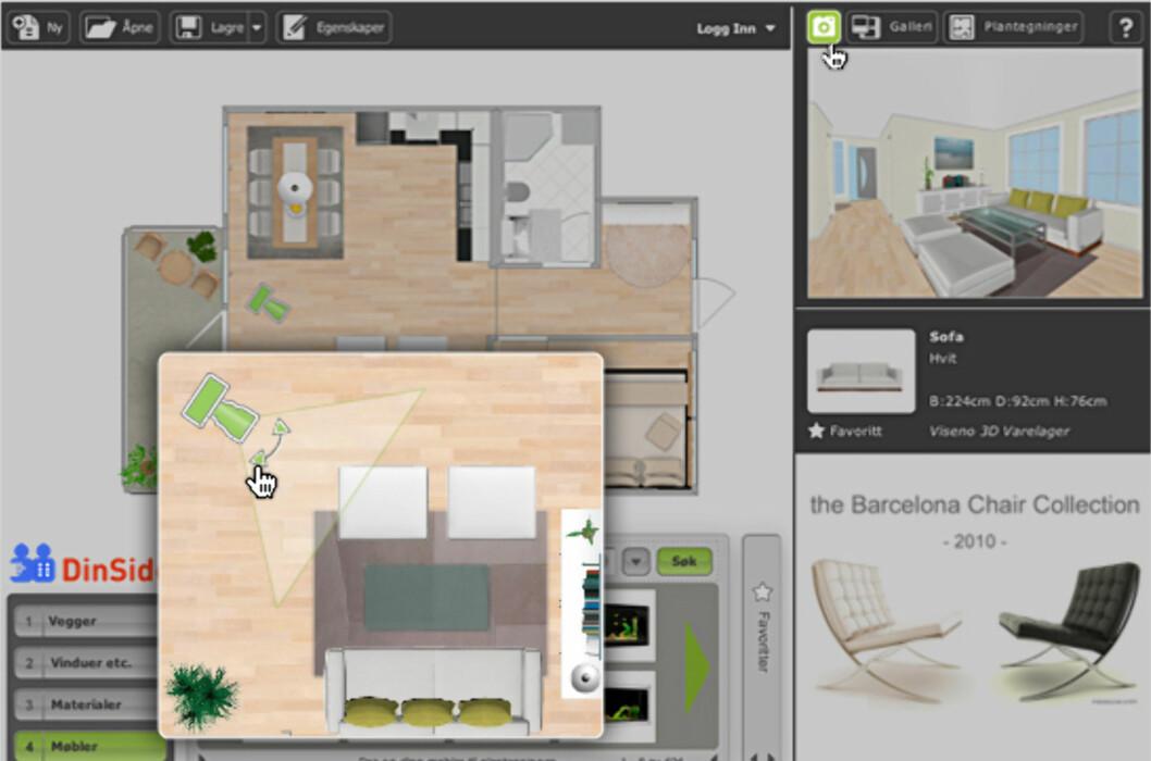 <strong><b>NYTT:</strong></b> Ny og bedre boligplanlegger på DinSide. Denne gang også for macbrukerne. Foto: RoomSketcher