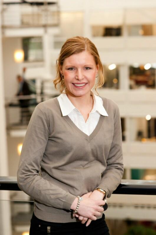 Forbrukerøkonom Christine Warloe i Nordea Foto: Nordea
