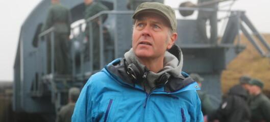 Lager film om en kampklar Kong Haakon