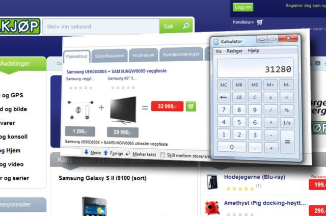 1edabd11c Tv: Pakketilbud dyrere enn å kjøpe varene hver for seg - DinSide