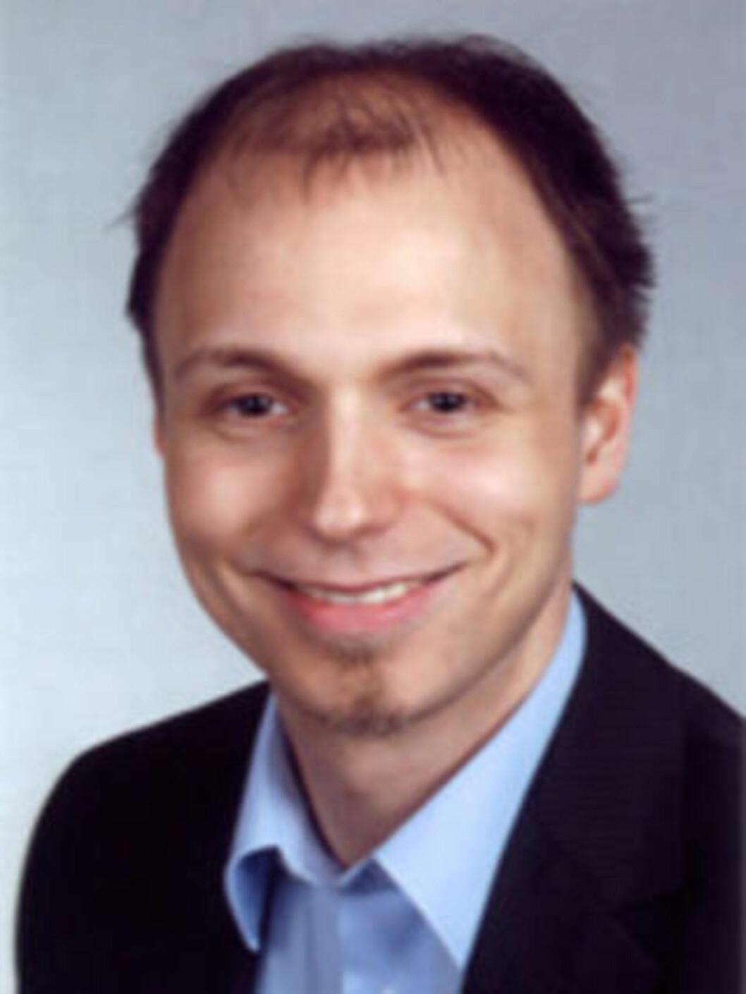 <strong>VILLE BARE BIDRA:</strong> Robin Seggelman. Foto: Linux Tag