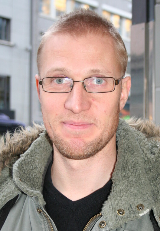 John Christian Gulliksen er ikke spesielt redd Foto: Pia Strømme