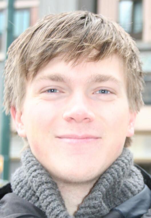 Jens Sundgren bekymrer seg ikke Foto: Pia Strømme