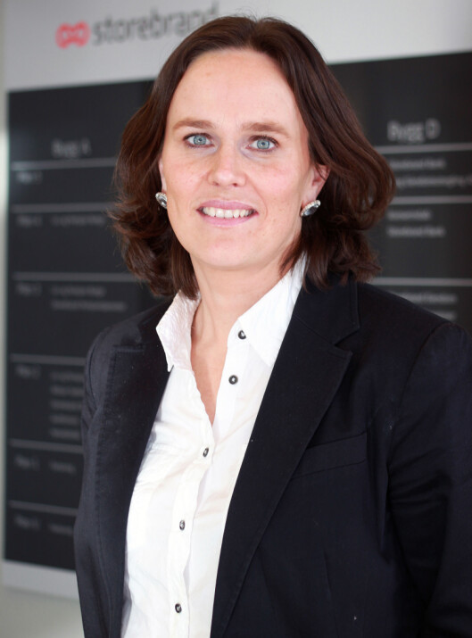 Hanne Gudding i Storebrand sier budsjettverktøyet vil bli enda bedre i 2012. Foto: Storebrand