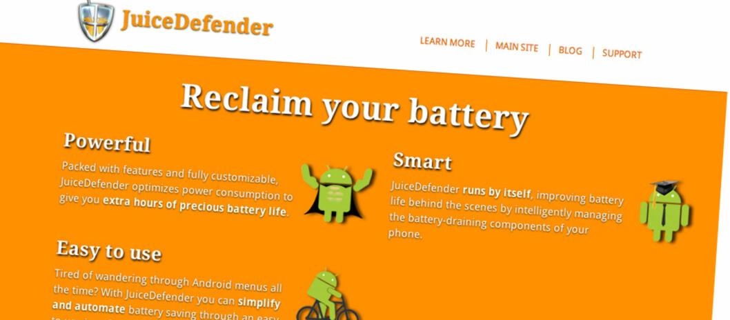 Flere rapporterer om både dobbel og tredobbel batteritid med JuiceDefender installert.