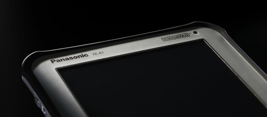 Panasonic Toughpad tåler fall fra 120cm og er myntet på de som ikke bruker mesteparten av tiden på kontoret. Foto: Produktbilder Panasonic