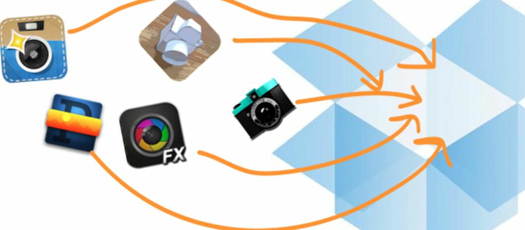 DropSnap sørger for å laste opp bilder til Dropbox – helt automatisk.