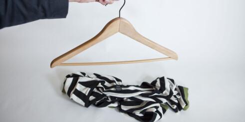 Er du lei av at klærne sklir av kleshengeren?