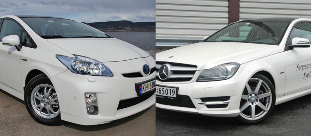 Toyota har så godt som oppfylt 2015-kravet allerede. Mercedes-konsernet har fortsatt en vei å gå.