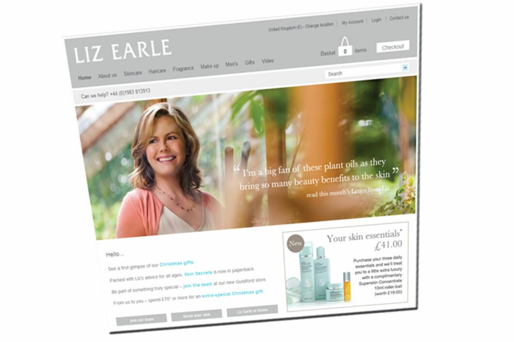 <strong>BESTE NETTBUTIKK:</strong> Lizearle.com får best resultater av 75 britiske nettbutikker.