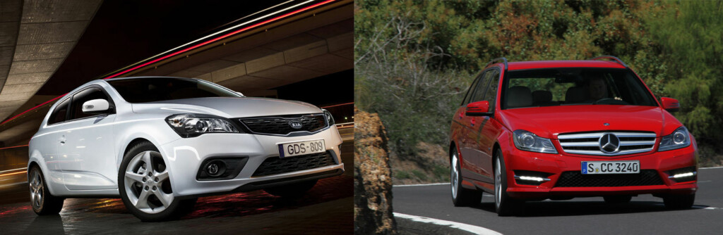 <b>NYBILGARANTI:</b> Kia er blant de med best nybilgaranti, mens Mercedes er blant de med dårligst, ifølge Forbrukerrådets rapport. Begge disse merkene erfra samme bilimportør.