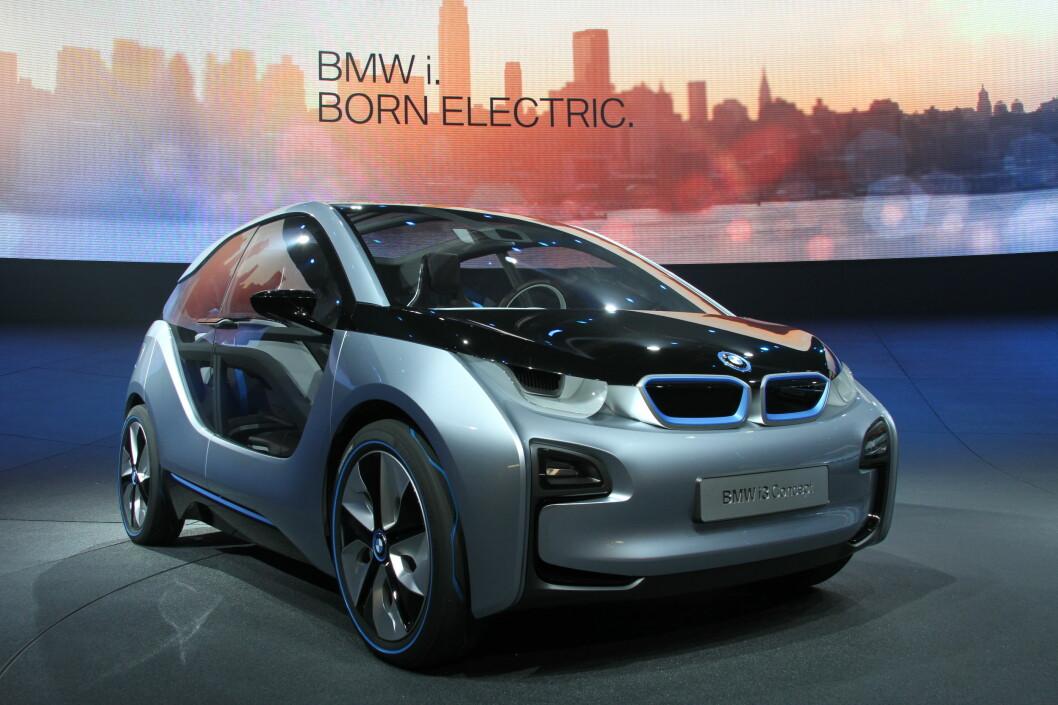 BMW i3 vil faktisk se ut som dette når den kommer i 2013.