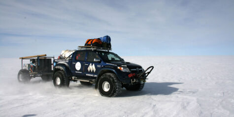 image: Arctic Trucks med rekord til Sydpolen