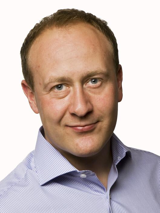 <strong>IKKE MENINGEN:</strong> Kommunikasjonssjef Øyvind Vederhus i Netcom mener de forsøker så godt de kan å holde seg innen loven, men at det ikke alltid er like lett.  Foto: Netcom