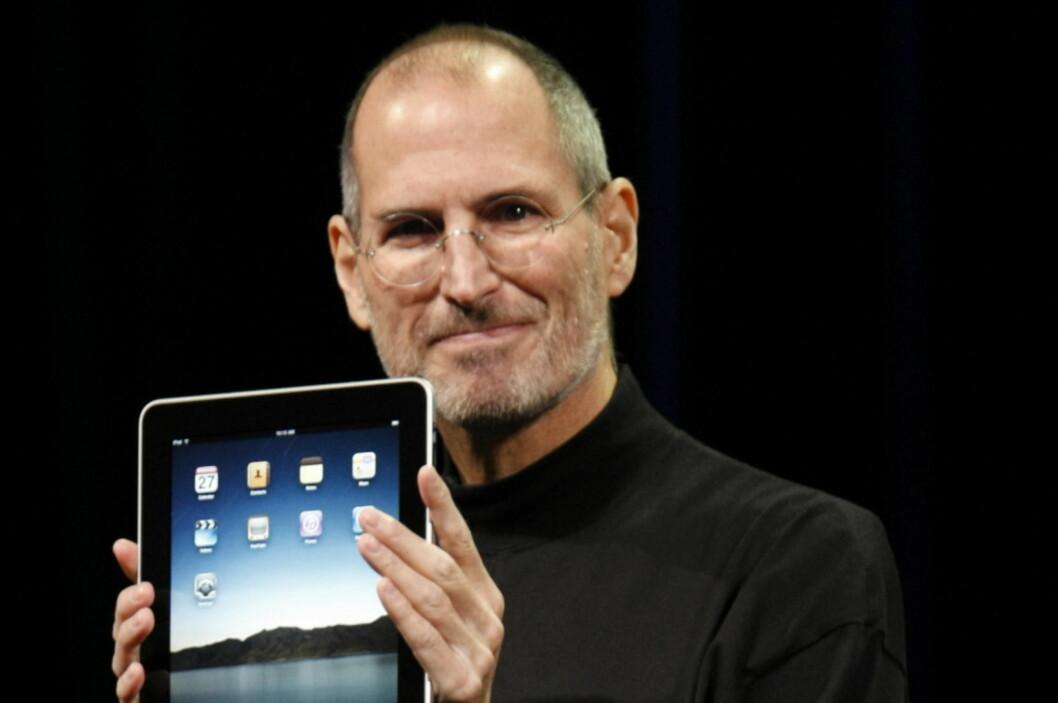 Steve Jobs hadde en uvanlig god teft for hva folk ønsket seg. Her fra lanseringen av iPad i januar i fjor. Foto: Apple