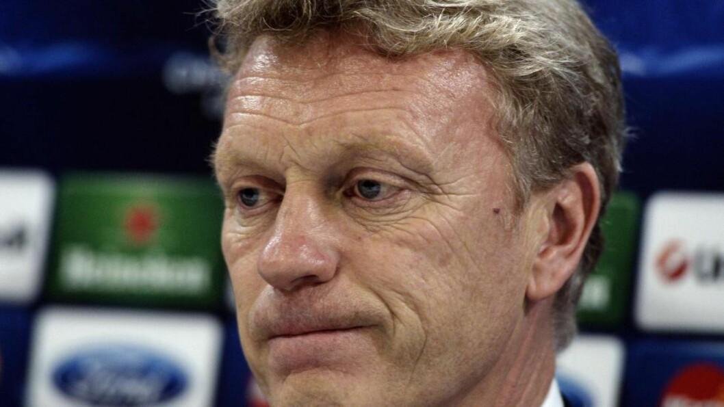 <strong> BLIR DYRT:</strong>  Å gi David Moyes sparken kan bli en dyr affære for Manchester United. Foto: NTB Scanpix