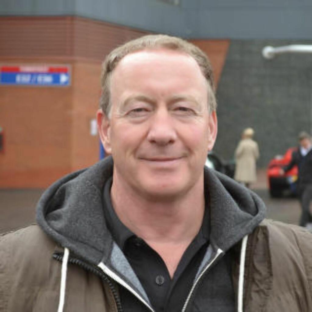 LEI MOYES: Supporteren Peter Turner sier til Dagbladet at han ikke vil savne David Moyes. Foto: Marius Guttormsen