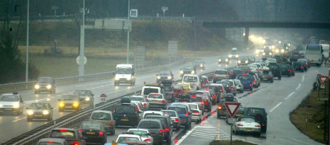Forurensningsnivået i de store byene er for høyt og dieselbilene gis mye av skylden Foto: COLOURBOX