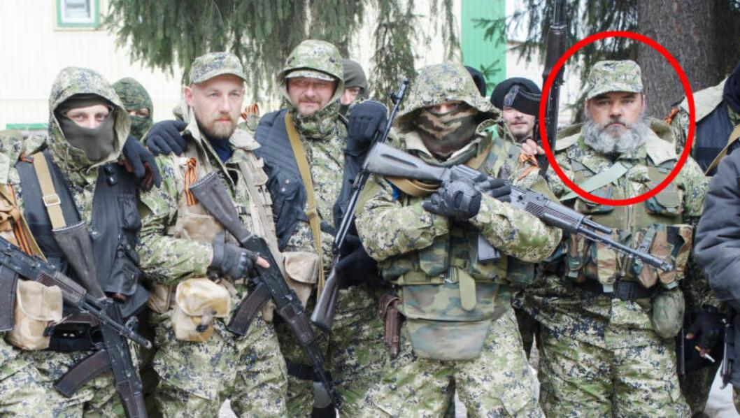 <strong>MANNEN MED SKJEGG:</strong> Denne mannen har fått mye oppmerksomhet, og skal ifølge ukrainske myndigheter være den samme som mannen til venstre på bildet under. De høyoppløslige bildene Dagbladet har søkt frem, svekker denne teorien. Foto: Foto: AP/MaximDondyuk/NTB Scanpix
