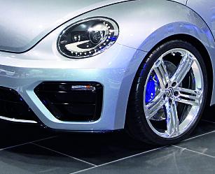 image: VW Beetle R på show