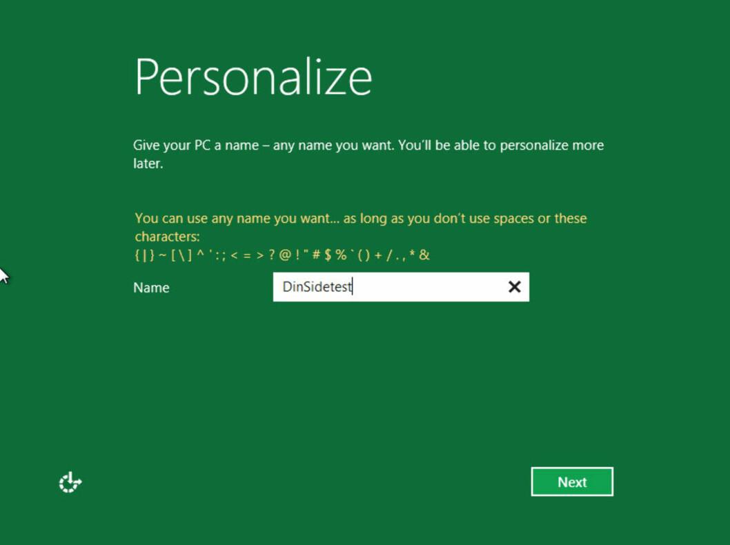 """Men etter et par omstarter befinner du deg plutselig i Microsofts nye verden, med """"Metro""""-designet."""
