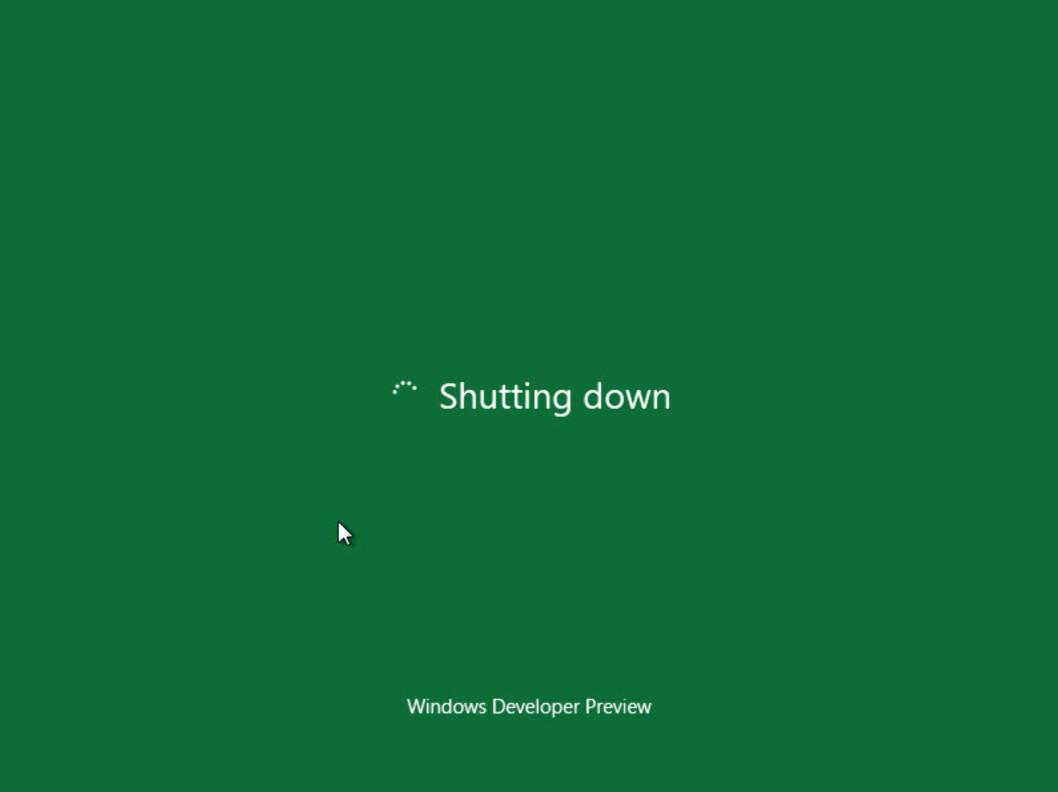 Så kan maskinen endelig slå seg av, og du kan gruble på om Windows 8 var verdt forsøket.