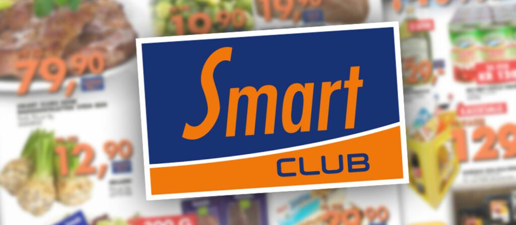 Smart Club kommer litt dårligere ut enn snittet i en pristest utført av DinSide. pristesten baserer seg på et utvalg av dagligvarer, og gjenspeiler riktignok ikke det store sortimentet til Smart Club. Foto: Coop/DinSide