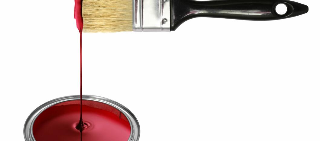 <strong><strong>FINT:</strong></strong> Maleprosjekter er noe de fleste prøver seg på, men hvordan holde utstyret i god skikk? Våte filler og plastfolie kan være billige og lure hjelpemidler. Foto: Colourbox.com