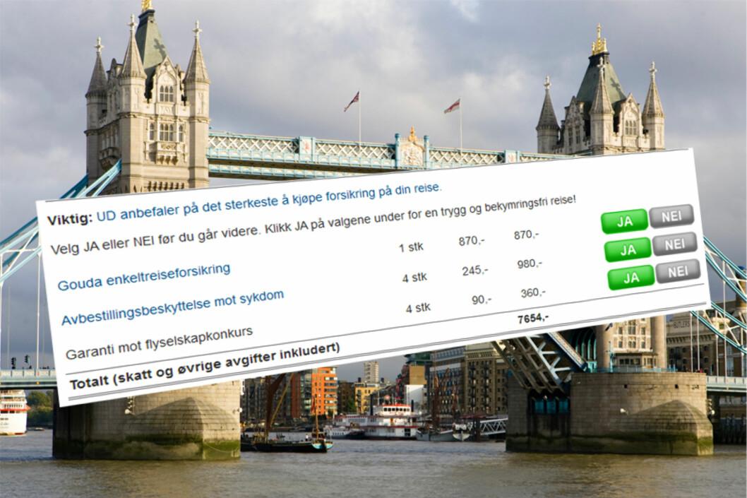 <strong>TRENGER DU FORSIKRING:</strong> Veldig mange har allerede reiseforsikring. Dessuten vil betaling med kredittkort i de fleste tilfeller gi reiseforsikring for den aktuelle reisen.   Foto: Colourbox.com