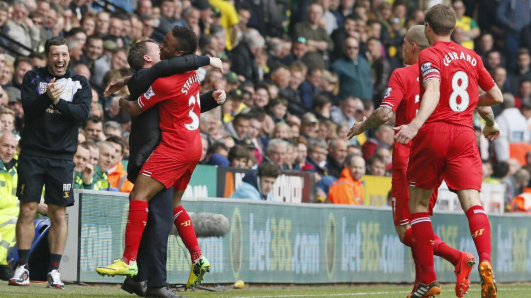 MOT LIGAGULL? Vinner Liverpool mot Premier League-toer Chelsea i morgen, har de ligagullet nesten i lomma. Foto: REUTERS/Stefan Wermuth