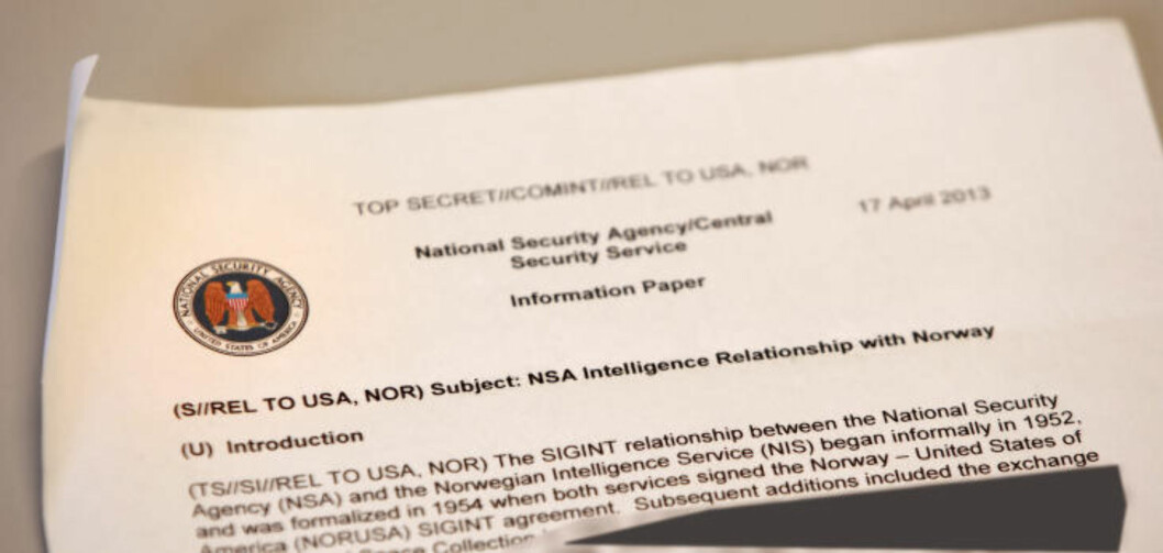 <strong>Information paper:</strong> This internal NSA-documet is a summary of the relationship NSA have with the Norwegian Inteligence Service (NIS).